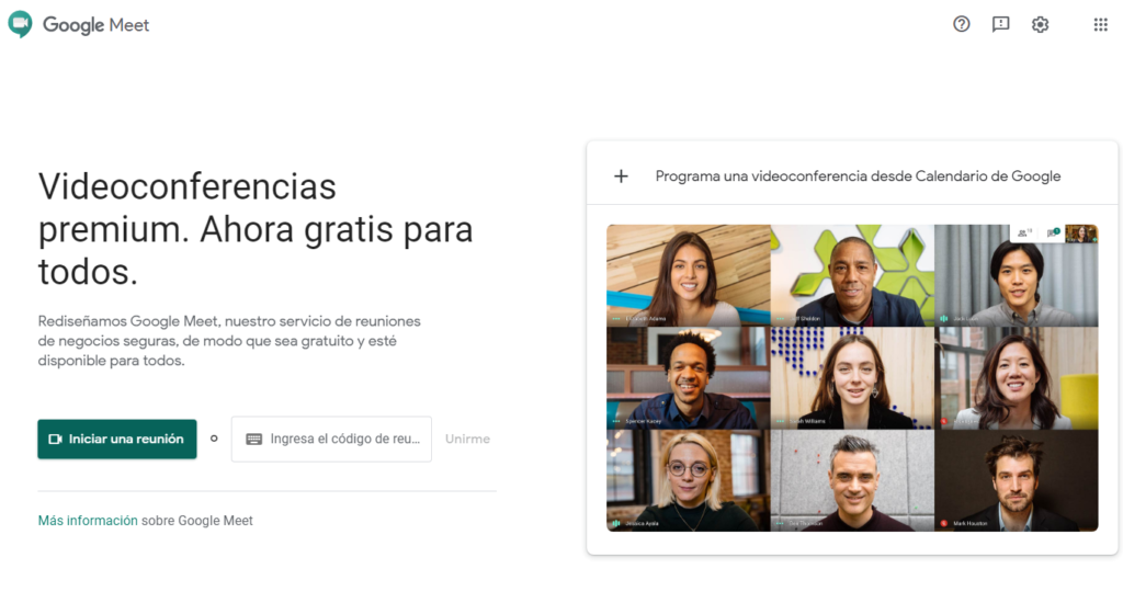 Tutorial sobre cómo usar Google Meet